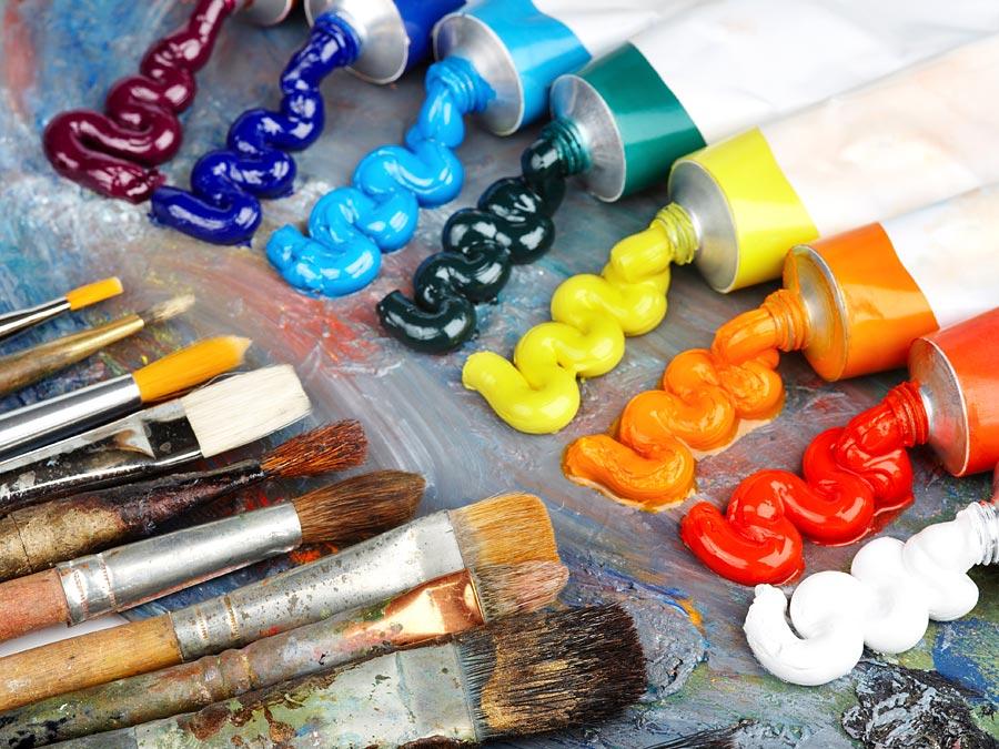 10 kunstmaterialen waar je niet zonder kan