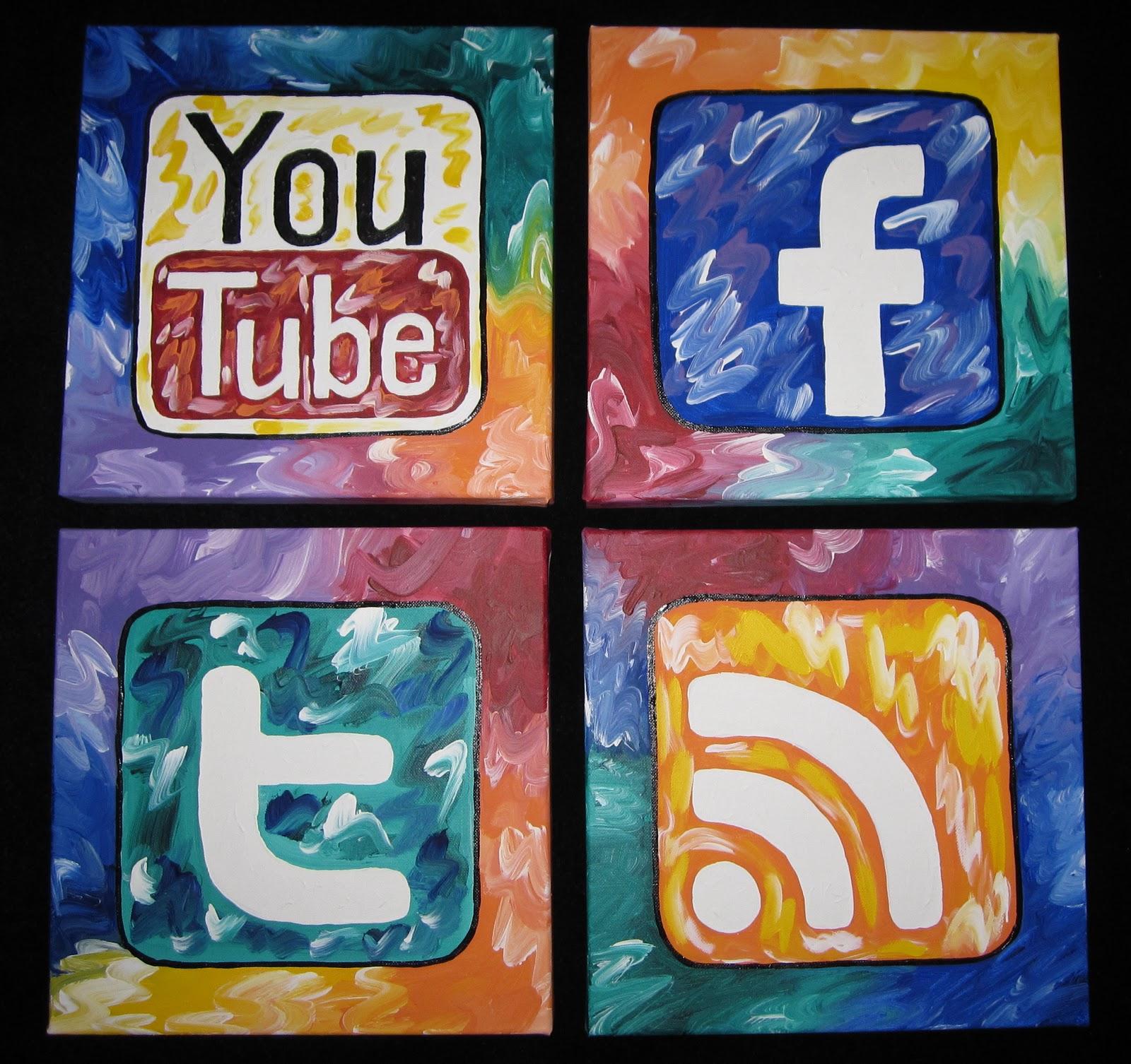Sociale media en kunstmarketeers